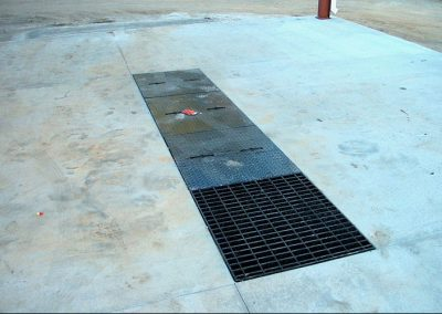 Wash Bay & Wastewater construction